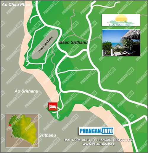Loyfa Natural Resort Location Map
