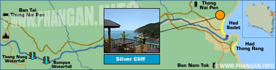 Silver Cliff Location Map