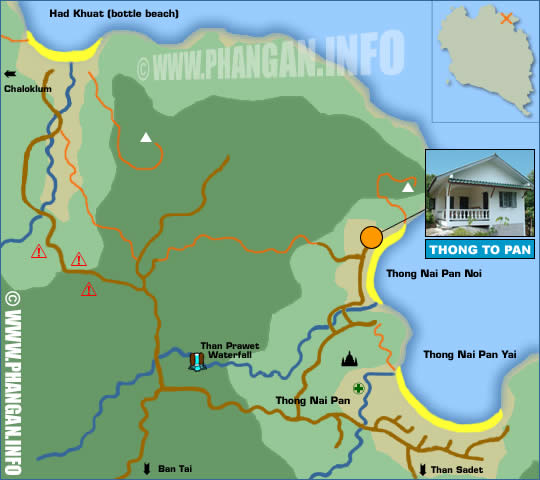 Thongtapan Resort Location Map