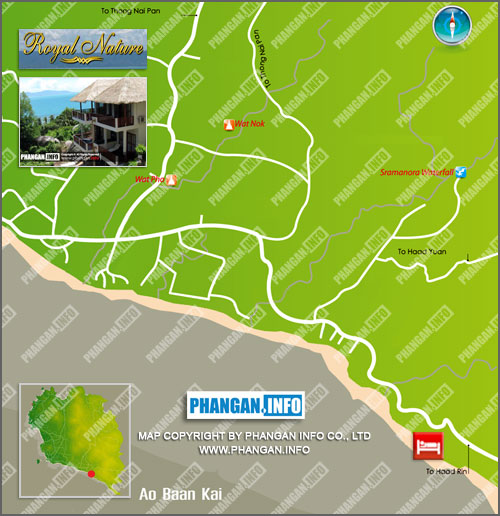 Royal Nature Resort Location Map