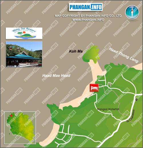 Wang Sai Resort Location Map