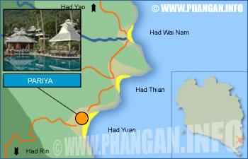 Pariya Resort and Villas Location Map