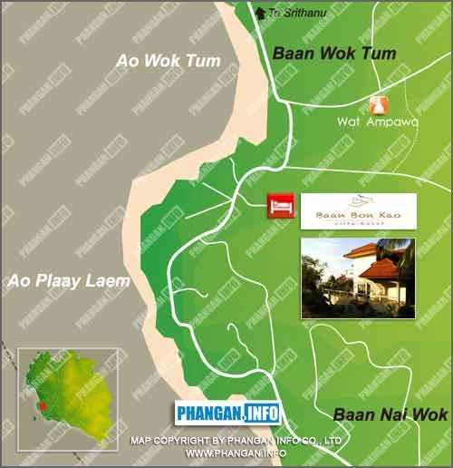 Baan Bon Kao Location Map