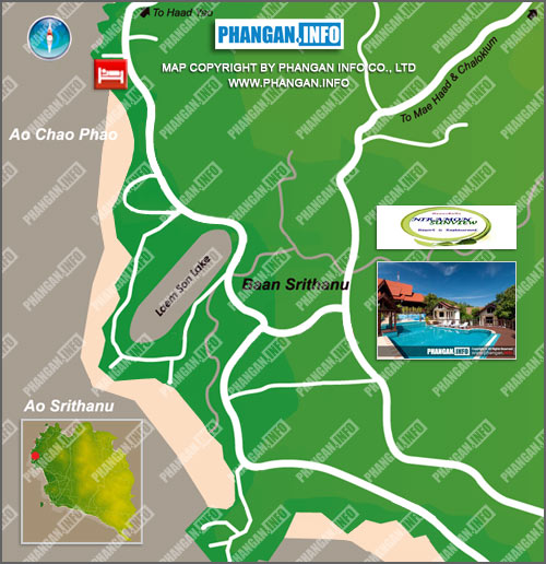 Niramon Sunview Location Map