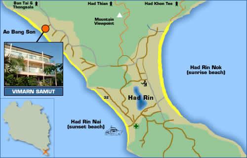 Vimarn Samut Resort Location Map