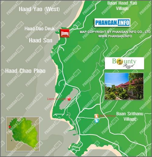Bounty Resort Location Map
