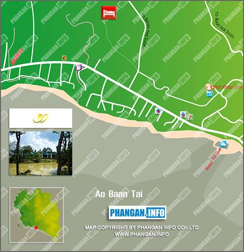 Palida Resort Location Map