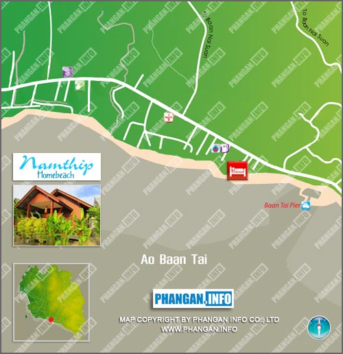 Namthip Homebeach Location Map