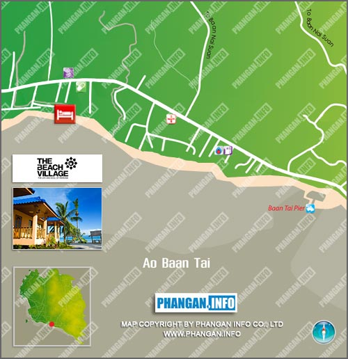 The Beach Village Location Map