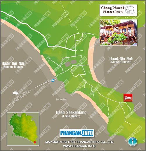 Chang Phueak Resort Location Map