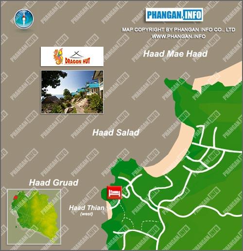 Dragon Hut Location Map