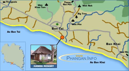 Hansa Resort Location Map
