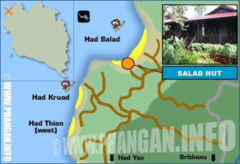 Salad Hut Location Map