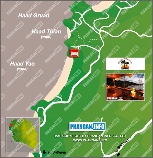 Dream Hill Resort Location Map