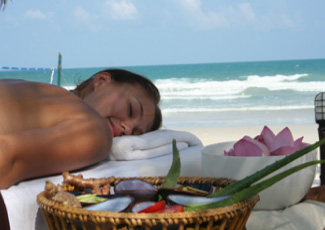 Spa Service on the Beach at Fairyland