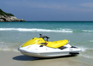 Jet Ski for Rent on Haad Rin Beach