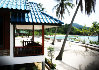 BEACHFRONT BUNGALOW AT HAAD TIAN RESORT