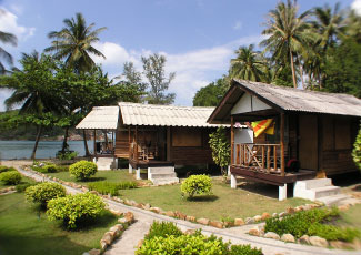 Royal Orchid Resort: Fan Bungalows