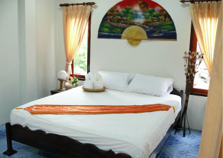 SEA VEIW AIR CON BUNGALOW WITH 1 DOUBLE BED