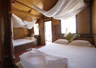 FAMILY BUNGALOW WITH 2 DOUBLE BEDS
