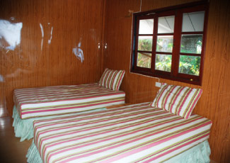 OCEAN VIEW BUNGALOW WITH 2 SINGLE BEDS