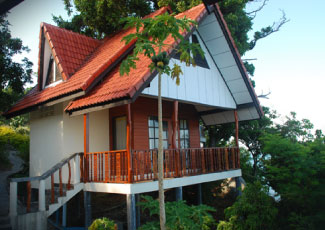 NICE BUNGALOWS AT THAN PRAPHARD RESORT