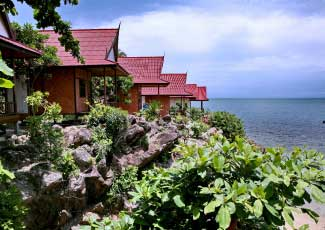 CLIFF-SIDE BUNGALOWS AT HIGH LIFE BUNGALOW