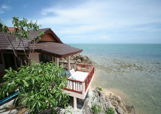 SEA VIEW BUNGALOW WITH PRIVATE TERRACE
