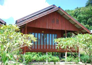 WOODEN BUNGALOW