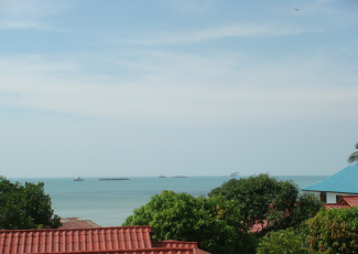SEA VIEW FROM SUPERIOR HOTEL ROOM (2ND FLOOR)