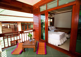 Hotel Room with private balcony