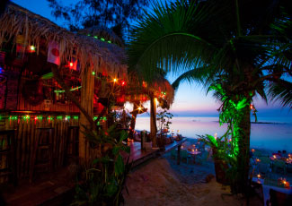 Beachfront Restaurant and beach Bar