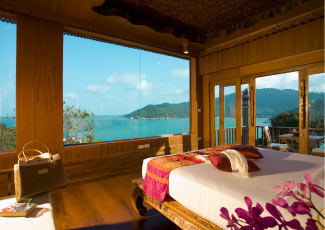 SANTHIYA DELUXE ROOM WITH SPECTACULAR SEAVIEW