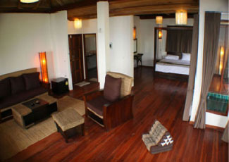 Royal Suite with Living Area and Pool