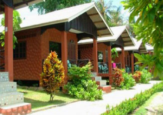 Bungalows at Coral Bungalow