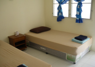 ROOM TYPE B WITH 2 SINGLE BEDS