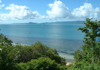 seaview at the resort