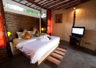 Inside Balinese Style Villa