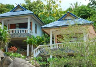 Modern Air-Con Bungalows at Phangan Orchid
