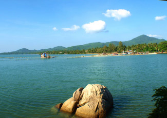 PANORAMIC SEA VIEW FROM THARATHIP RESORT