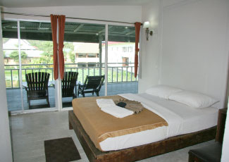 AIR CON ROOM WITH BALCONY