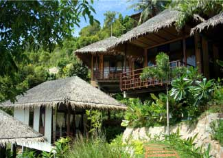 Balinese-Style-Bungalows-at-Cookies's-Salad-Resort