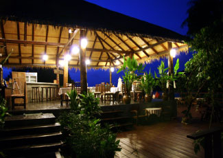 Sea View Restaurant at Night