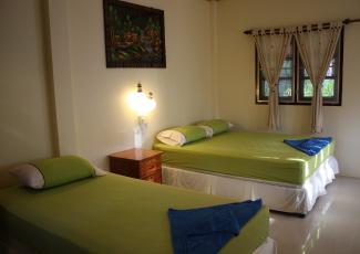 Air Con Bungalow's bedroom