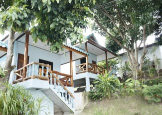 Deluxe Bungalow with Gaeden and Sea View