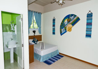 Hotel Room with Single Bed