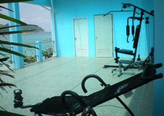 Exercise Area with Sea View