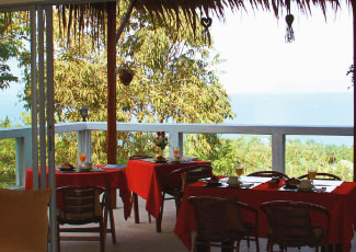 Breakfast, Lunch and Dining Area with Stunning View