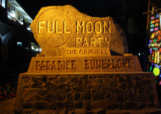 Full Moon Party at Paradise Bungalow