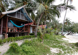 Beachfront Fan Bungalow
